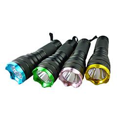 Torce LED Torce LED lm 1 Modo - per Campeggio/Escursionismo/Speleologia Batterie non incluse