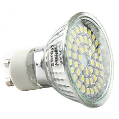 abordables Bombillas LED-3W 250-300 lm GU10 Focos LED MR16 48 leds SMD 3528 Blanco Natural AC 220-240V