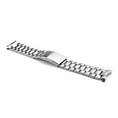남성 여성 시계 밴드 스테인레스 스틸 #(0.08) #(17.7 x 2 x 0.4) 시계 악세서리