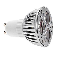 cheap LED & Lighting-3W GU10 LED Spotlight MR16 3 COB 280 lm Warm White Dimmable AC 220-240 V