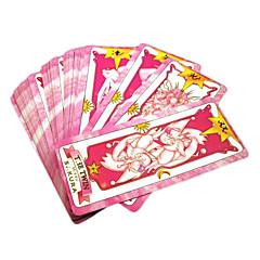 Más Accesorios Inspirado por Cardcaptor Sakura Sakura Kinomoto Animé Accesorios de Cosplay Tarjeta Negro Papel Mujer