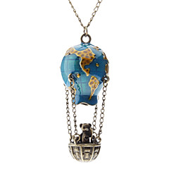 cheap Necklaces-Women's Pendant Necklace  -  Fashion Blue Necklace For Daily