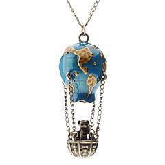 preiswerte Halsketten-Damen Anhängerketten  -  Modisch Blau Modische Halsketten Für Alltag