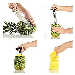 1 Ananas Dunschiller & Rasp For voor Fruit RVS Hoge kwaliteit Creative Kitchen Gadget