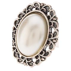 お買い得  指輪-女性用 ステートメントリング  -  真珠, 合金 ファッション 5 用途 パーティー