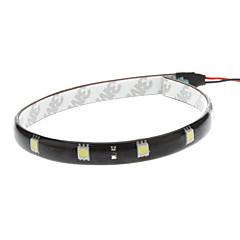 tanie Żarówki Samochodowe LED-Samochód Biały 2.5W SMD 5050 6000-6500 Lekka Instrument Oświetlenia tablicy rejestracyjnej Strip Światło