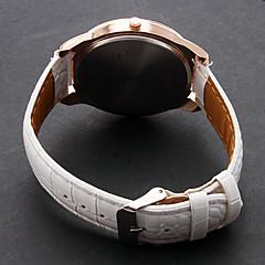 お買い得  レディース腕時計-女性用 レディース ファッションウォッチ クォーツ PU バンド ハンズ エッフェル塔 白