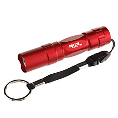 رخيصةأون -LED Flashlights LED 100 lm 1 طريقة تكتيكي Everyday Use أسود بني أحمر أزرق
