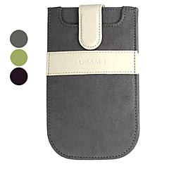 USAMS 5 Inch Lederen Tas voor Samsung Galaxy S3 en S4