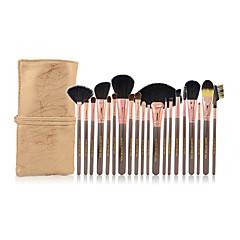 20 Brush Sets Zwijnsborstel / Nylonkwast / Overige / Kwast van ponyhaar / Kwast van geitenhaar / Paard Beperkt bacterieënGezicht / Lip /