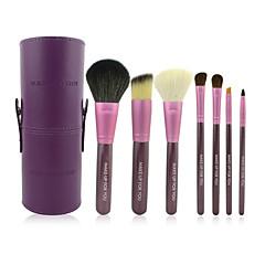 7 Brush Sets Kwast van ponyhaar / Kwast van geitenhaar / Paard Beperkt bacterieën Gezicht / Lip / Oog MAKE-UP FOR YOU