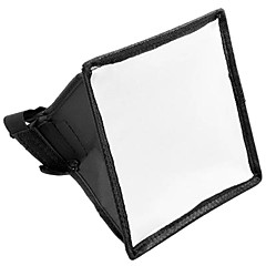 15x17cm Portable flash Softbox del difusor del flash para Canon Nikon