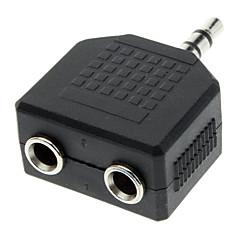 preiswerte Kabel & Adapter-3,5 mm Stecker auf Dual-Buchse Audio-Split-Adapter