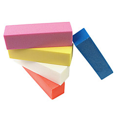 Lijar Block Art Nail Buffer archivo 1PCS (color al azar)