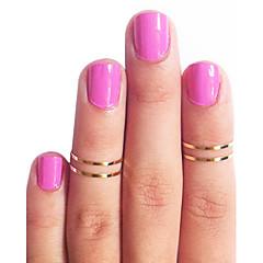 Damen Mittelfingerring Modeschmuck Kupfer Schmuck Für Alltag