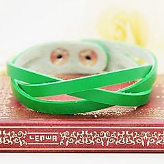 preiswerte Armbänder-Damen Lederarmbänder - Leder Einzigartiges Design, Modisch Armbänder Braun / Rot / Grün Für Party / Alltag