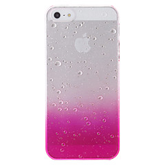 tanie Etui do iPhone 5-Unikalny wzór kropli wody Transparent Hard Case do iPhone 5/5S