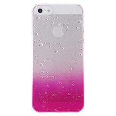 お買い得  iPhone 5S/SE ケース-ケース 用途 iPhone 5 Apple iPhone 5ケース クリア パターン バックカバー カラーグラデーション ハード PC のために iPhone SE / 5s iPhone 5