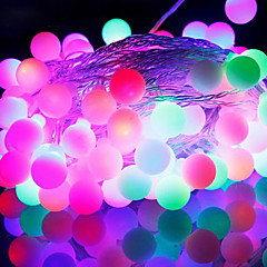 50-LED 9M Waterproof EU Plug Outdoor Christmas Holiday Decoration RGB Light LED String Light (220V)