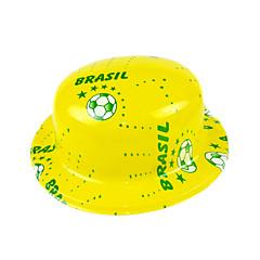 abordables Herramientas de Broma-Sombrero de la bandera nacional de Brasil
