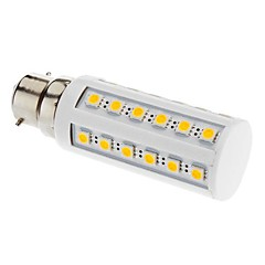 B22 LED Corn Lights T 36 leds SMD 5050 Warm White 3000