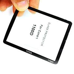 Fotga premium LCD-scherm panel protector glas voor Canon EOS 1000D