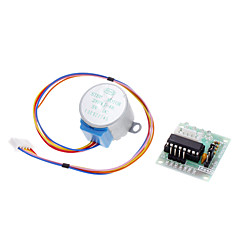 를위한 DC 5V 4 단계 5 선 스텝 모터 + 드라이버 보드 테스트 모듈 (Arduino를위한)