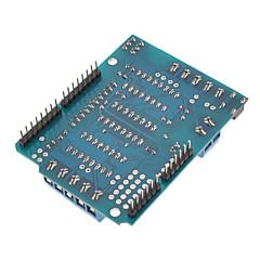 voordelige -L293D motoraandrijving uitbreiding schild board board voor de (voor Arduino) Duemilanove mega uno