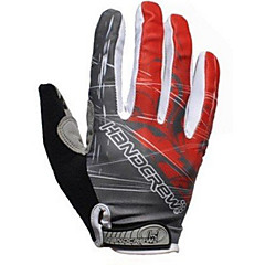 AUTHENTIC Handcrew Men's Bike Gloves Sports Gloves Full Finger Professional GEL Bicycle Cycling Gloves