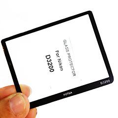 fotga® Premium LCD screen protector panel glas voor Nikon D3200