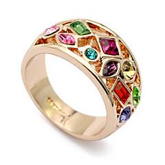 anillo del fahion de las mujeres crytal multicolor (multicolor) (1 pc)
