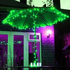 12M 100-LED RGB Light LED Solar Strip Light for Christmas Decorations