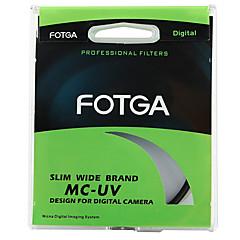 fotga® 62mm ultra ince pro8 mc çoklu-kaplamalı UV ultraviyole lens koruyucusu filtresi