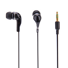 H2-102 In Ear Wired Headphones Dynamic Plastic Mobile Phone Earphone with Microphone with Volume Control Headset