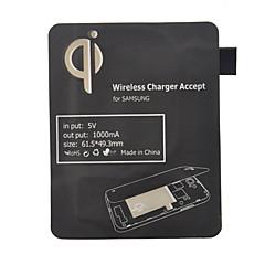 Standardowy czarny Qi odbiornik Wireless Charging Pad dla I9300 Samsung Galaxy S3