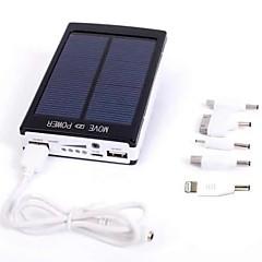 お買い得  モバイルバッテリー-外部バッテリー30000mah太陽光発電·バンク/ iPhone用懐中電灯を主導6/6プラス/ 5 / 5S /サムスンS4 / S5 /注2