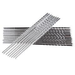 5 쌍 스테인레스 스틸 중국 젓가락을 비 슬립