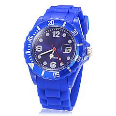 お買い得  メンズ腕時計-男性用 スポーツウォッチ 日本産 カレンダー バンド
