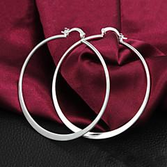Dames Ring oorbellen Verzilverd Sieraden Voor Feest Dagelijks Causaal