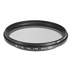 Draaibaar ND-filter voor camera (58mm)