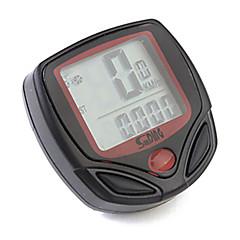 Compteur vélo Digital LCD vélo Ordinateur de vélo Compteur de vitesse 13 Fonctions Kilométrage vitesse