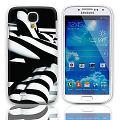 のために Samsung Galaxy ケース パターン ケース バックカバー ケース ブラック & ホワイト PC Samsung S4 Mini