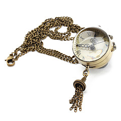 Mujer Reloj de Moda Cuarzo Banda Bronce