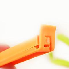 저렴한 -플라스틱 캔디 컬러의 밀봉 클립 (5PCS, 색상 랜덤)