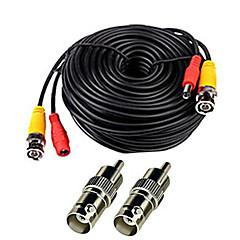 billige Overvågningssystemer-Kabler 150 Feet Video Power Cable for CCTV Surveillance System for Sikkerhed Systemer 5000cm 0.7kg