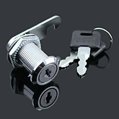 Skab dørlås tunge lås postkasse lås metal fil skuff lås 40mm