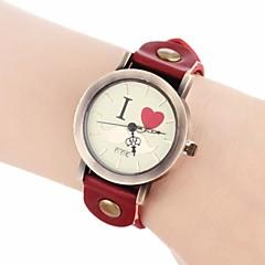 お買い得  大特価腕時計-女性用 ブレスレットウォッチ クォーツ バンド ブラック / 白 / ブルー - ブルー ライトブラウン ダークブラウン