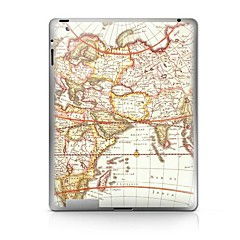 Map  Pattern Protective Sticker for iPad 1/2/3/4  iPad Skin Stickers