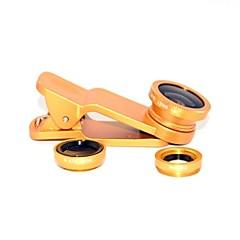 abordables Accesorios de Samsung-lente universal de gran angular del fisheye universal del clip para el teléfono móvil universal para el iphone 8 7 samsung galaxia s8 s7