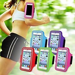 kuntosali käynnissä urheilu hihanauha armband tapauksessa kattaa iPhone 5 / 5s / 5c